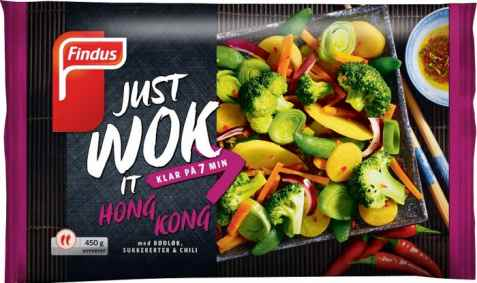 Bilde av Findus just wok it hong kong.