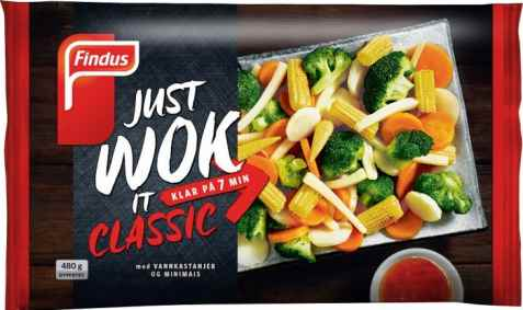 Bilde av Findus just Wok it Classic.