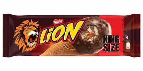 Bilde av Iskrem, med kjeks, Lion King Size.
