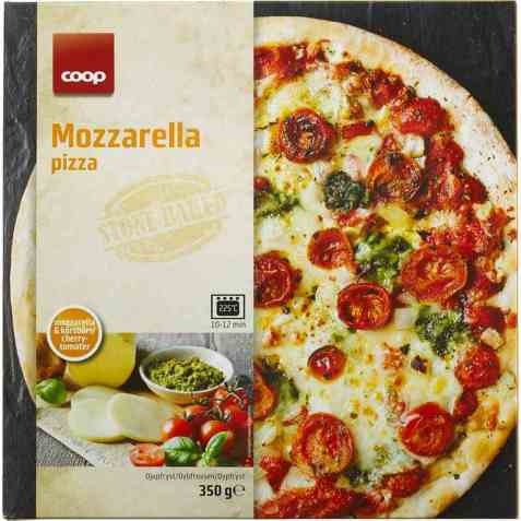 Bilde av Coop Pizza Mozzarella.