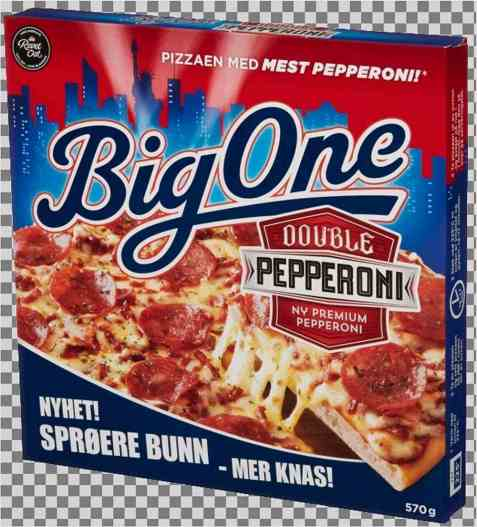 Bilde av Big One Double Pepperoni.