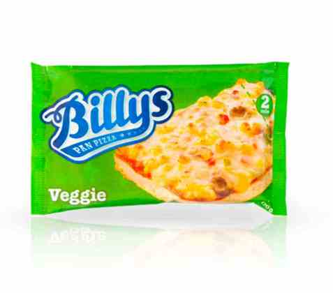 Bilde av Billys Pan Pizza Vegetar.