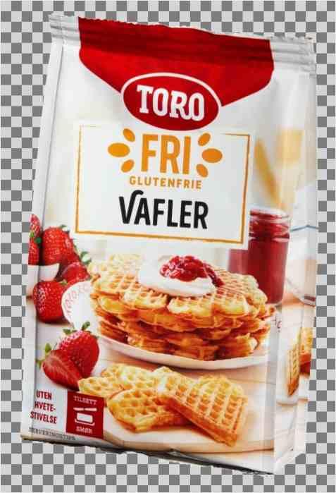 Bilde av Toro glutenfrie vafler.