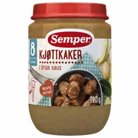 Bilde av Semper Kjøttkaker i brun saus.