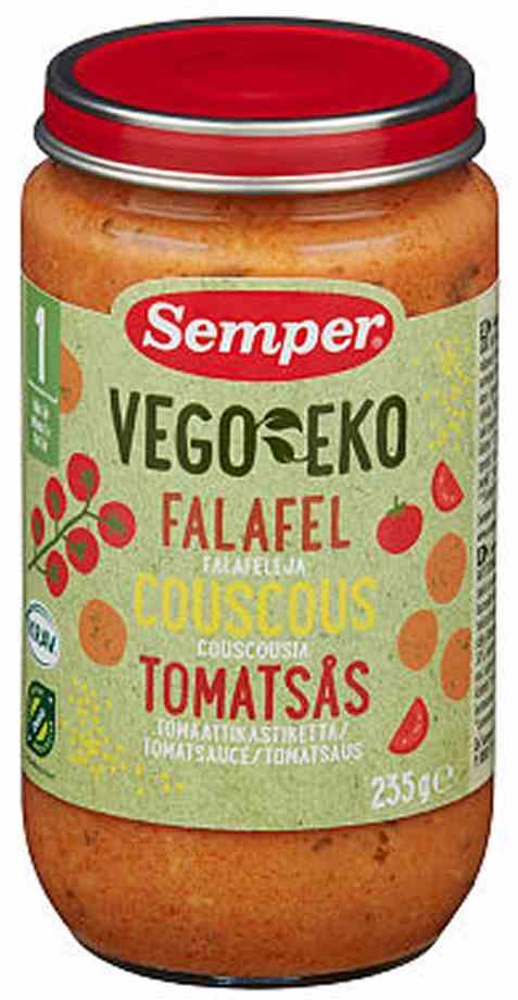 Bilde av Semper Falafel m. Couscous & Tomat.