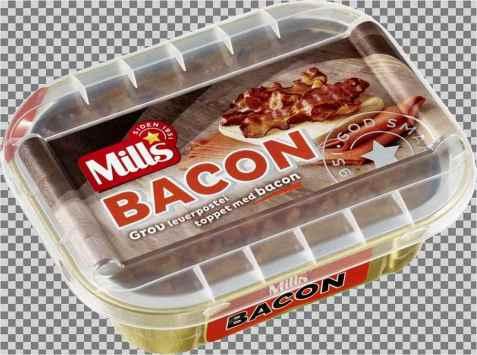 Bilde av Mills ovnsbakt baconpostei.