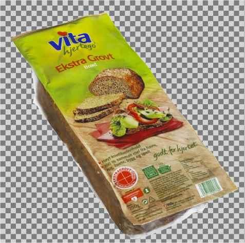 Bilde av Vita hjertego Ekstra grovt brød.