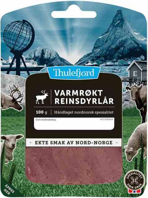 Bilde av Thulefjord Varmrøkt reinsdyrlår.