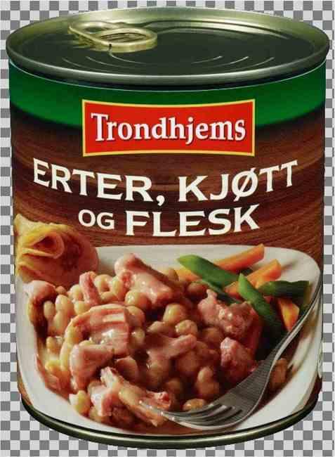 Bilde av Trondhjems Erter, kjøtt og flesk.