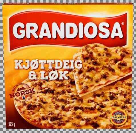 Bilde av Grandiosa kjøttdeig og løk.