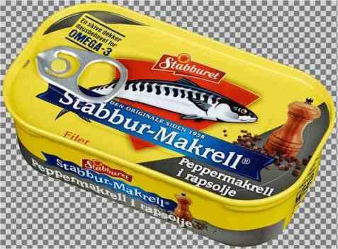 Bilde av Stabbur makrell peppermakrell i rapsolje.