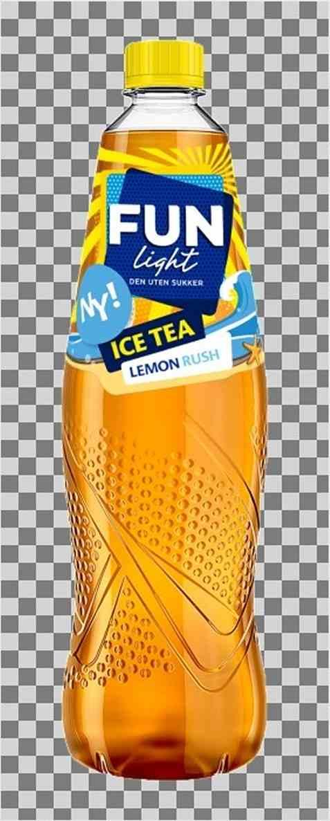 Bilde av Fun Light Ice Tea Lemon.
