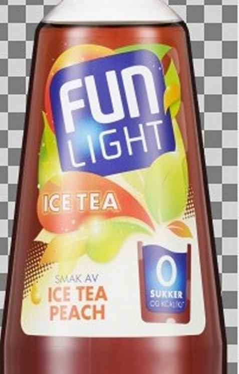 Bilde av Fun Light Ice Tea Peach.