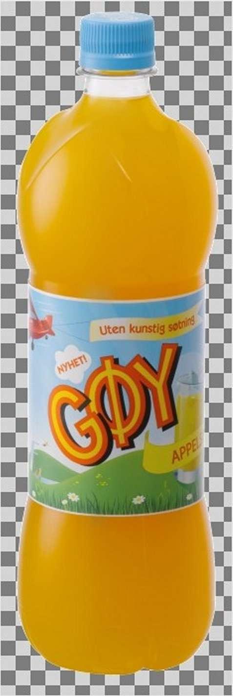 Bilde av Gøy appelsinsaft.
