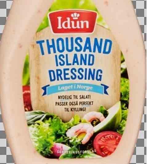 Bilde av Idun Thousand Island dressing.