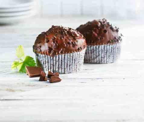 Bilde av Aunt Mabel Triple chocolate muffin.