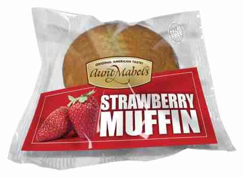 Bilde av Aunt Mabel strawberry muffin.