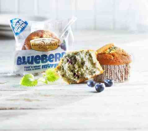 Bilde av Aunt Mabel blueberry muffin.