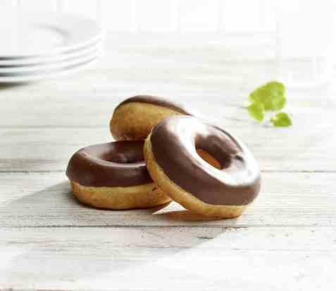 Bilde av Aunt Mabel chocolate donut.