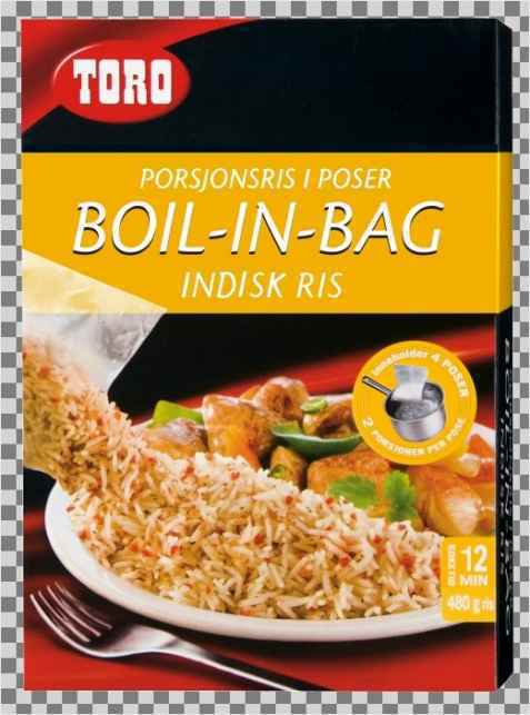 Bilde av Toro Boil in bag Indisk ris.