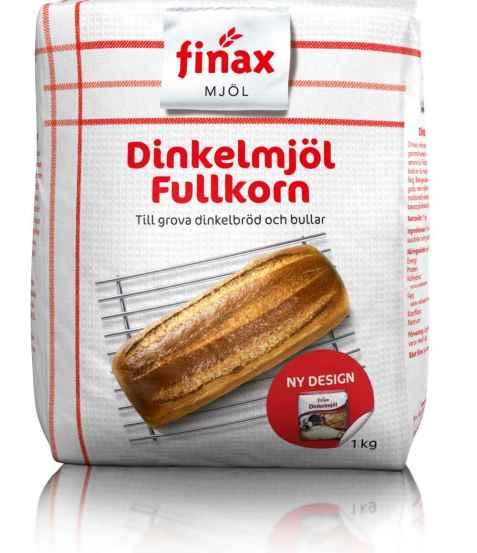 Bilde av Finax Dinkelmjöl fullkorn.