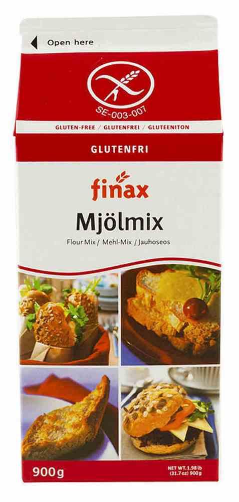 Bilde av Finax Glutenfri Mjølmix med melk.