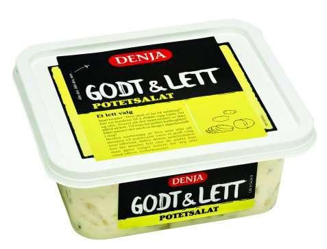 Bilde av Denja godt og lett potetsalat.