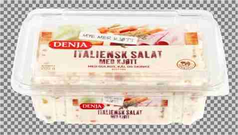 Bilde av Denja italiensk salat med kjøtt.