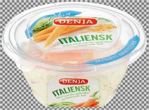 Bilde av Denja italiensk salat uten kjøtt.
