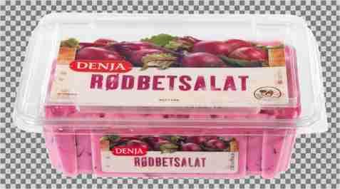 Bilde av Denja rødbetesalat.
