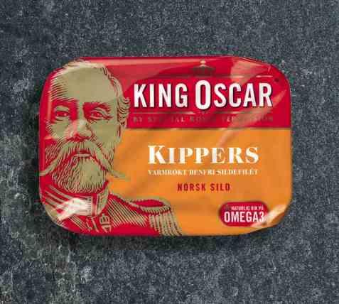 Bilde av King Oscar kippers.