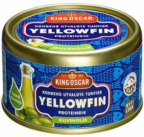 Bilde av King Oscar tuna i olje.