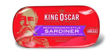 Bilde av King Oscar sardiner mediterranean style.