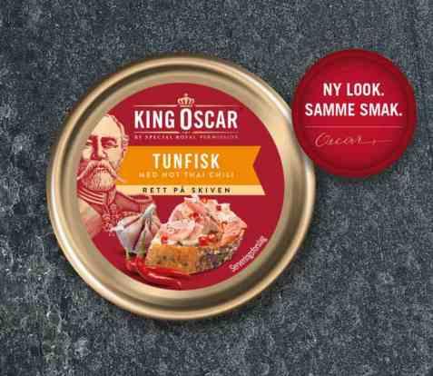Bilde av King Oscar tunfisk med thai chili.