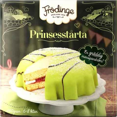Bilde av Frødinge prinsesseterte.