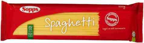 Bilde av Sopps spaghetti.