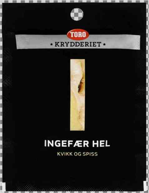 Bilde av Toro Krydderiet Ingefær Hel.