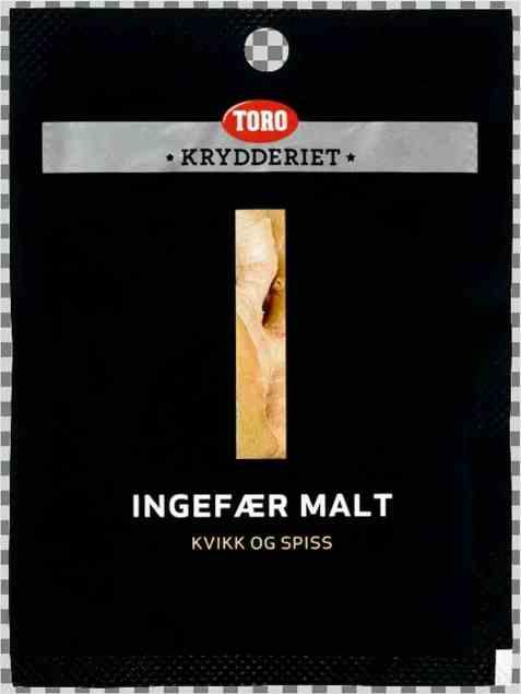 Bilde av Toro Krydderiet Ingefær Malt.