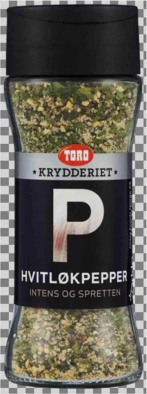 Bilde av Toro Krydderiet Hvitløkspepper.