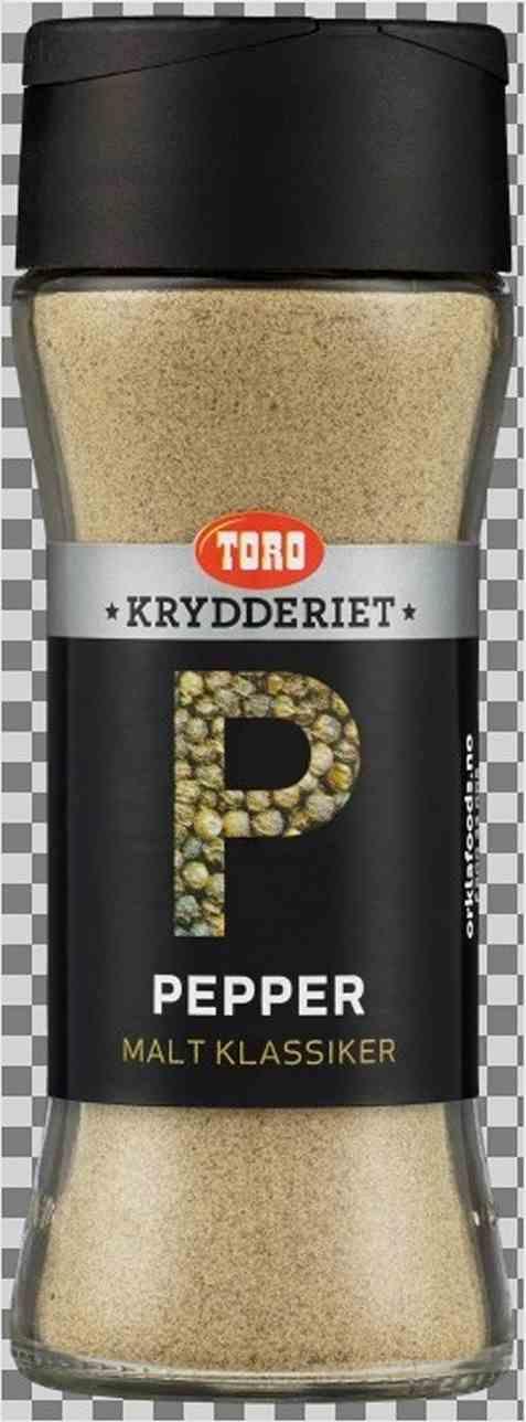 Bilde av Toro Krydderiet pepper sort malt.