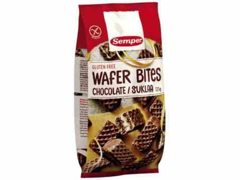 Bilde av Semper vaffelkjeks med sjokolade.