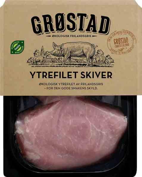Bilde av Grøstadgris svin ytrefilet.