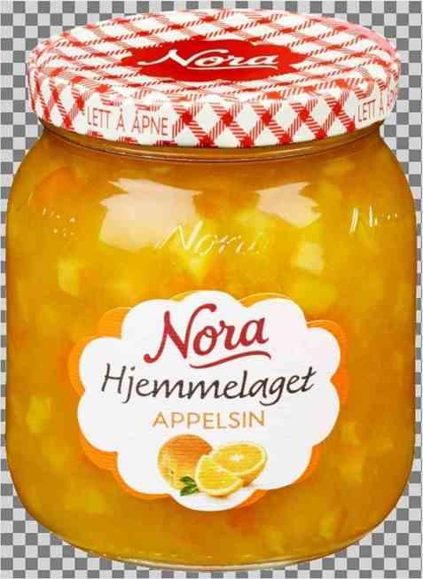 Bilde av Nora hjemmelaget appelsinmarmelade.