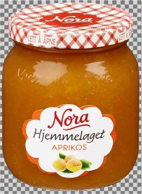 Bilde av Nora hjemmelaget aprikossyltetøy.