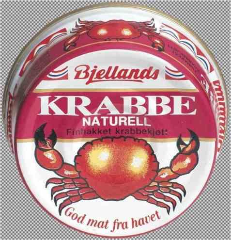 Bilde av Bjellands krabbe naturell.