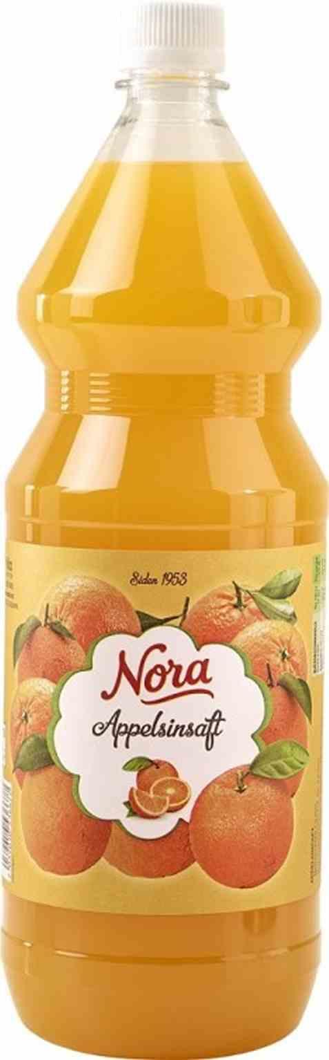 Bilde av Nora appelsinsaft.