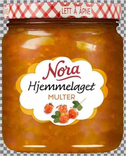 Bilde av Noras hjemmelaget multesyltetøy.