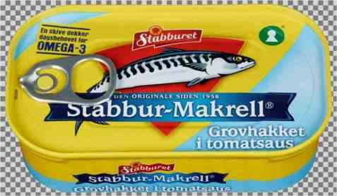 Bilde av Stabbur makrell Grovhakket filet i tomat.