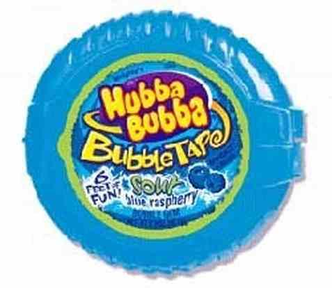 Bilde av Hubba Bubba Bubble Tape Blue Raspberry.