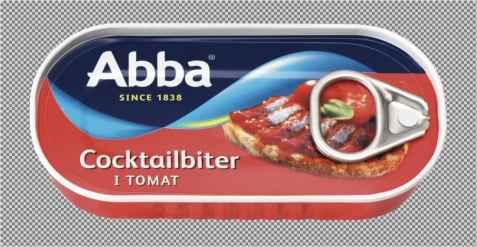 Bilde av Abba cocktailbiter i tomat.